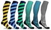 DCF Chic Knee-High Compression Socks (3-Pack)