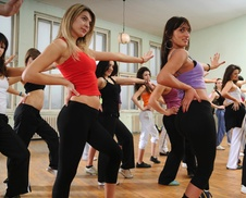 Pure Fitness Studio: 10 Zumba Classes at Pure Fitness (29% Off)