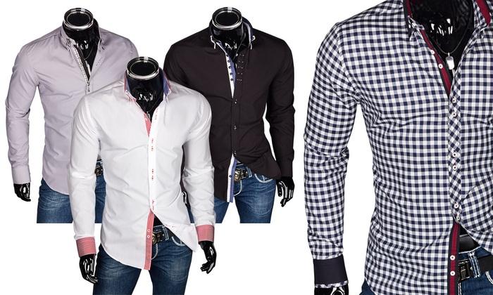 the latest 20dac 26377 Trendiges Hemd für Herren   Groupon Goods