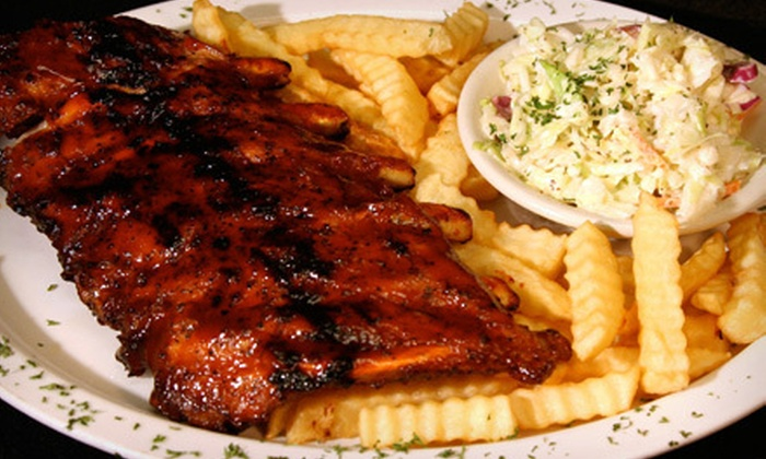 The Cage Bar & Grill - Davie: Pub Dinner Food for Two or Four at The Cage Bar & Grill (Up to 54% Off)