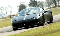 One-, Two- or Three-Supercar Circuit Blast and Ride from Into the Blue, Multiple Locations (Up to 17% Off)