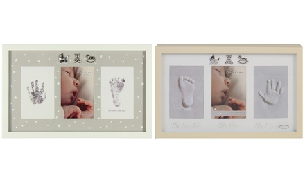 Bambino NEW BABY NATURAL PHOTO FRAME /& CASTING KIT