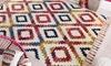 Teppich mit Boho-Design