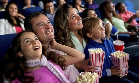 1, 2 o 4 entradas de cine con palomitas y bebida desde 5,90 € en Multicines Tenerife