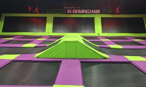 Bounce in Birmingham: One-Hour Bounce Session for Up to Four at Bounce in Birmingham (33% Off)