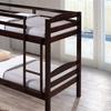 Crimson Twin Bunk Bed