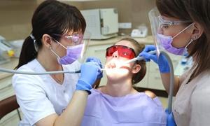 Centrum Stomatologii Nova Dentica : Skaling, piaskowanie, fluoryzacja i przegląd stomatologiczny za 79,99 zł w Centrum Stomatologii Nova Dentica