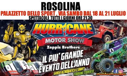 Promozione Esperienze Groupon.it Hurricane Motor Show, Rosolina