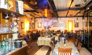 Il Capriccio: Menu di mare dall'antipasto al dolce con vino per 2 o 4 persone al ristorante Il Capriccio (sconto 58%)