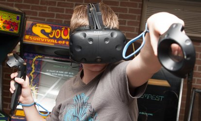 image for 30-Minute Gaming Session at Altered Realities VR Arcade (Up to 48% Off)