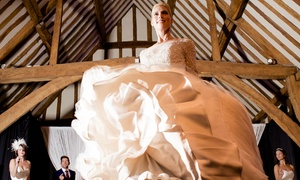Bride: The Wedding Show: Tickets to Bride: The Wedding Show, 7 - 8 January at Knebworth Barns (Up to 50% Off)