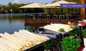 Restaurant Boddensee: All you can eat Spargel-Buffet für 2 oder 4 Personen im Restaurant Boddensee (bis zu 34% sparen*)