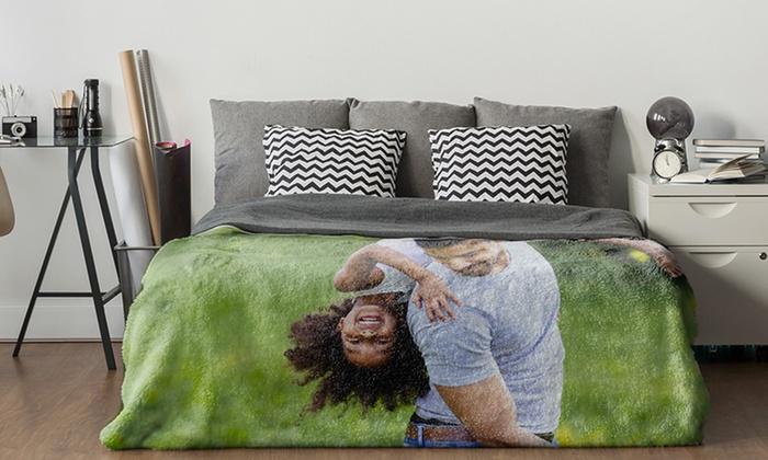 manta impresa con fotografia - manta personalizada barata
