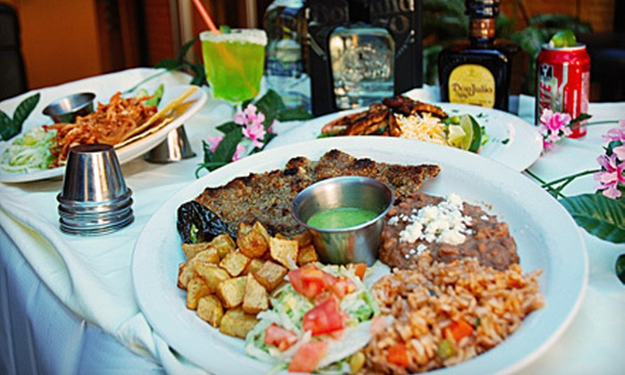 Zocalo Restaurant & Bar - Multiple Locations: Mexican Food and Drinks at Zocalo Restaurant & Bar (Half Off). Two Options Available.
