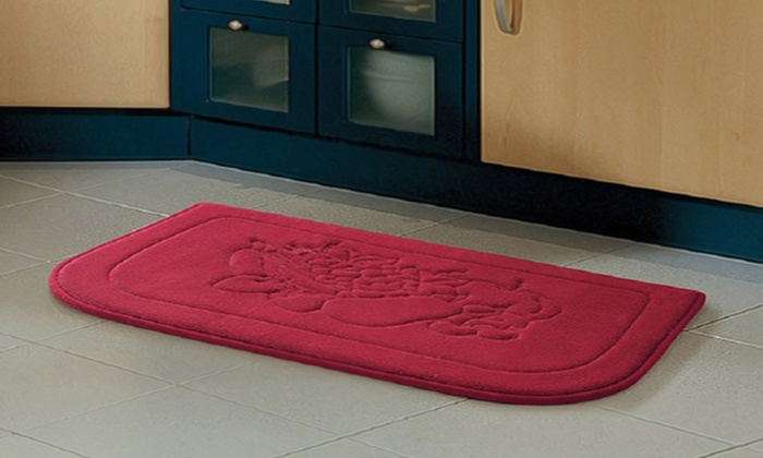 ... Memory Foam Anti Fatigue Microfiber Kitchen Mat: Memory Foam  Anti Fatigue Microfiber Kitchen ...