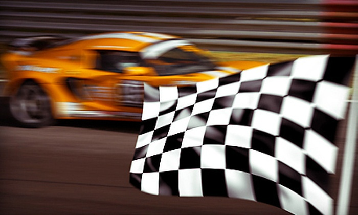 On Track Racing Experience - 5, Shenandoah: $175 for a Rookie Driving Experience at Shenandoah Speedway from On Track Racing Experience ($350 Value)