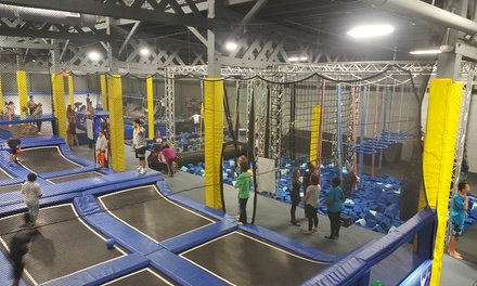 One-Hour Jump Passes at Quantum Leap (Up to 44% Off). Three Options Available.
