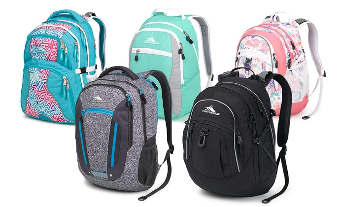 Back to Campus High Sierra Backpacks