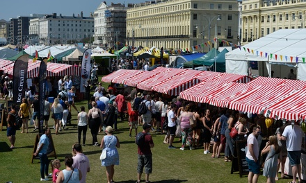 Foodies Festival on 3 - 5 August at Inverleith Park (Up to 50% Off)