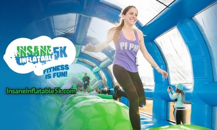 $29 for 5K Registration for One to Insane Inflatable 5K on Saturday, October 19 ($48.45 Value)