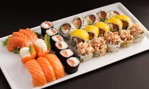 Jiro Sushi: Desde $299 por tabla de 32 o 64 piezas de sushi en Jiro Sushi, 3 sucursales