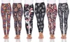 Women's One-Size Soft Cozy Printed Leggings. Plus Sizes Available.