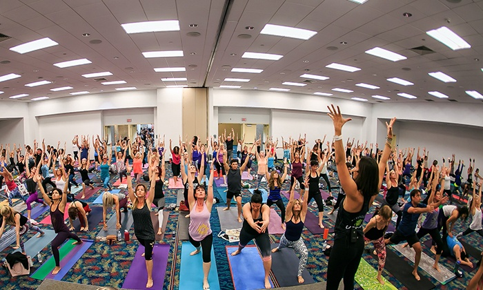 The Yoga Expo - George R. Brown Convention Center: The Yoga Expo 2016 on Saturday, September 10, at 10 a.m.