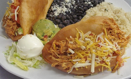 Mexican Cuisine for Two or Four at La Cantina (Up to 39% Off)