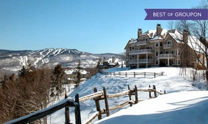 Quebec Resort near Mountain Activities at Cap Tremblant, plus 6.0% Cash Back from Ebates.