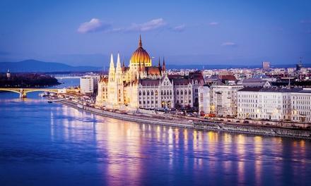 ✈Viena, Budapest y Praga: 6 noches con habitación doble, desayuno, vuelo de i/v desde MAD o BCN, opción a crucero y cena
