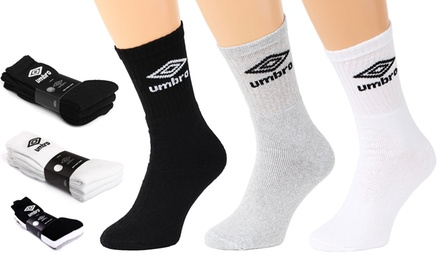15 paires de chaussettes Umbro