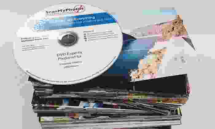 "ScanMyPhotos.com: Photo-to-DVD Scanning for 500 or 1,000 4""x6"" Photos from ScanMyPhotos.com (Up to 83% Off)"