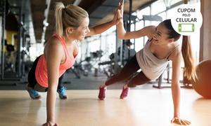 Academia Fitness Mulher: 1, 2 ou 3 meses de circuito funcional feminino na Academia Fitness Mulher – São José