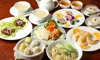 【27%OFF】本格的な飲茶を楽しみたい方へ≪ランチコース/飲茶ミニコース&高級中国茶付き/1名分・2名分・4名分≫予約不要 @上海飯店