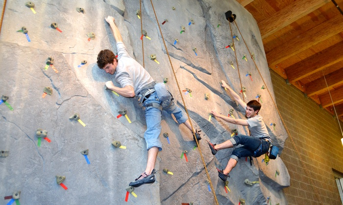 Bellevue Parks & Community Services - Eastgate: Indoor Rock Climbing for Kids and Adults at South Bellevue Community Center (Up to 55% Off). Four Options Available.