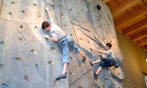 Bellevue Parks & Community Services: Indoor Rock Climbing for Kids and Adults at South Bellevue Community Center (Up to 55% Off). Four Options Available.