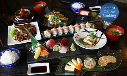 7Course Japanese Tasting Menu for Two $69 or Four People $138 at Tokkuri Sake Wine Bar Up to $362 Value