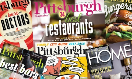 One- or Two-Year Subscription with City Guide and Home from Pittsburgh Magazine (Up to 50% Off)