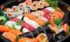 Sushi box d' asporto con 52 pezzi e 2 birre in zona centrale