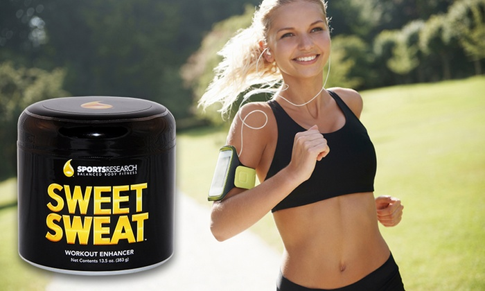 Sweet Sweat Workout Enhancer XL Jar: 13.5 Oz. XL Jar of Sweet Sweat Workout Enhancer