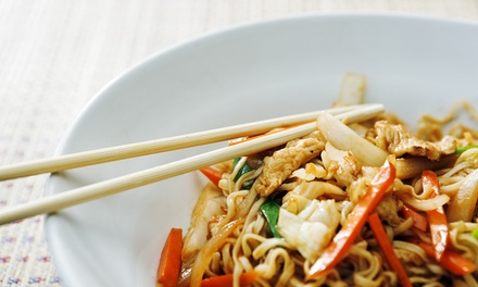 Thai Cuisine at Nara Thai Dining Express (30% Off). Two Options Available.