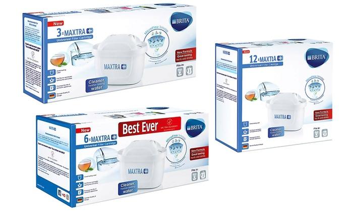 Groupon Goods Global GmbH: 1x, 3x, 6x oder 12x Brita Maxtra+ Powerfilter