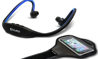 Aduro Sport Wireless Stereo Bluetooth Headset and Armband (Delivery Included)