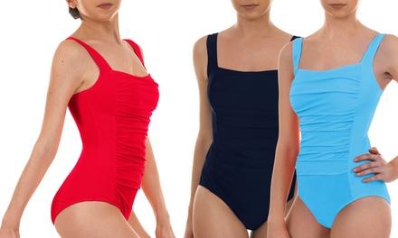 8f6567b015 Maillot de bain « effet ventre plat » Glamslim, tailles et coloris au  choix, ...
