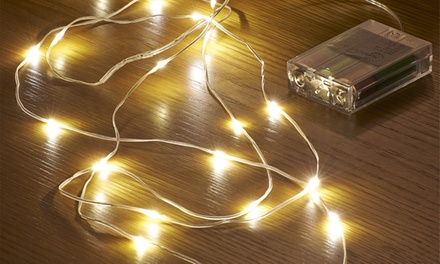 Up to Eight Packs of Auraglow LED String Lights