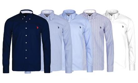Camicia da uomo US Polo Assn disponibili in 5 modelli e 5 taglie con spedizione gratuita