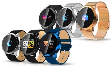 1 of 2 Smartwatches met OLED display voor Android en iOS