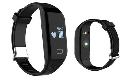 Sportarmband met bluetoothconnectie en hartslagfunctie