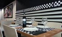 Menú para 2 o 4 con entrante, principal, bebida y postre con opción a vino y cóctel desde 19,90€ en Jaque Mate