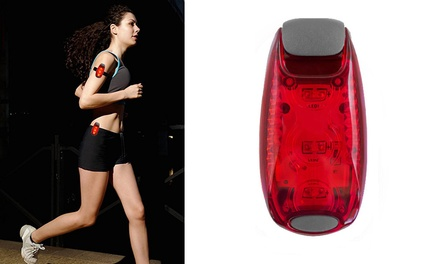 Outdoor LED Safety High Visibility Running Light: One $9.95 or Two $15.95
